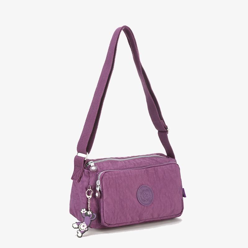 Fashion Women Handbag Brand Nylon Casual Messenger Bags Simple Solid Female Wallet Flap Crossbody Bag Designer Travel Sac A Main