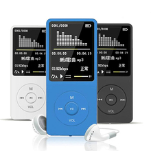 цена на New Fashion MP3 Player 4GB/8GB FM Portable LCD Screen HiFi Lossless Sound Music USB Support 128GB Micro SD TF Card Walkman