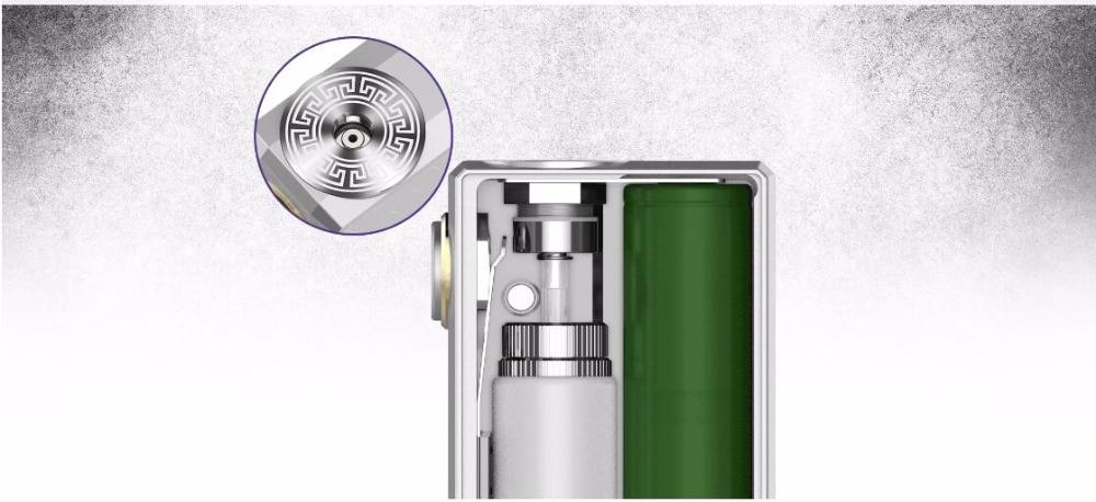 GeekVape Athena Squonk Box Mod Vape with 6.5ml Squonk Bottle Electronic Cigarette Weipa Support Squonk RDA TANK