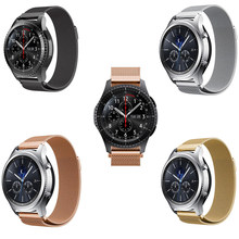 Hot 20mm 22mm stainless steel Band for Moto 360 2nd Asus zenwatch 1 2 Ticwatch E 2 1 link bracelet Magnetic closure belt Strap(China)