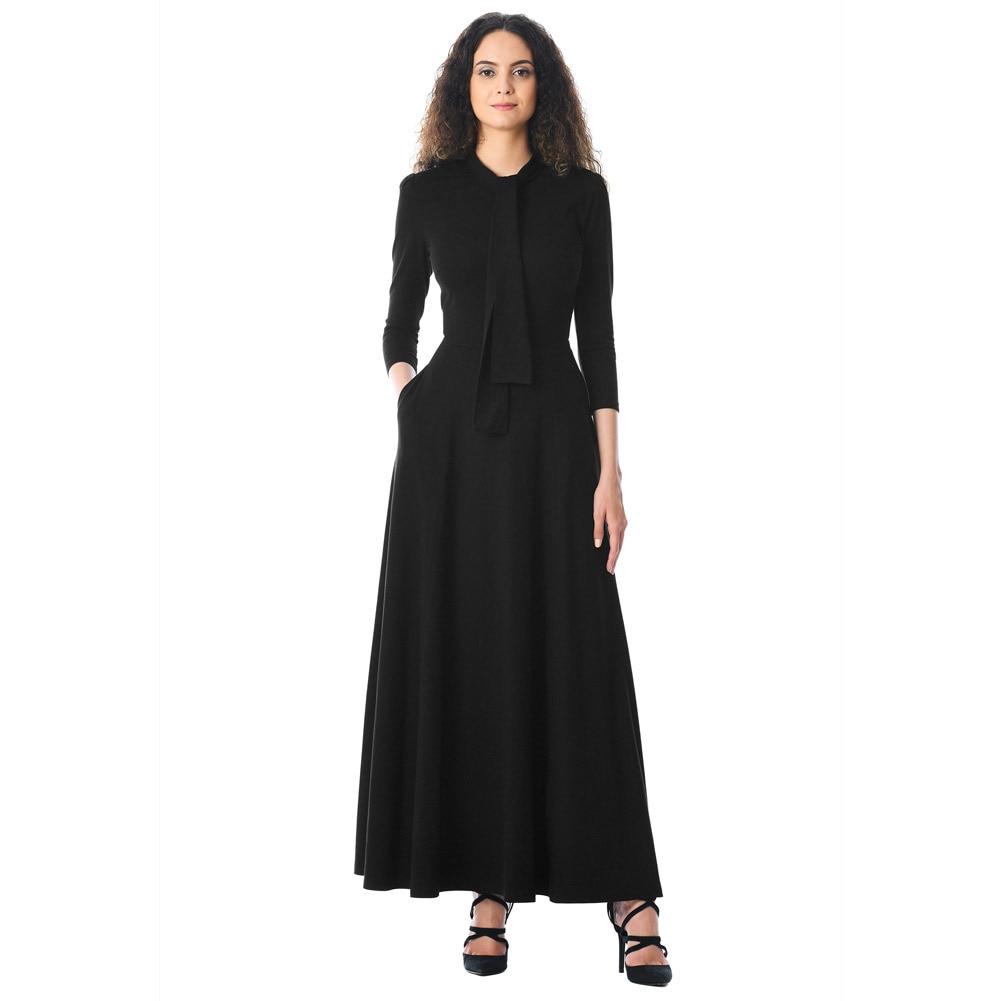 Maxi robes pour femmes fête robe chaude hiver automne robes longues pour bal femmes vêtements robe formelle élégante robes 610398