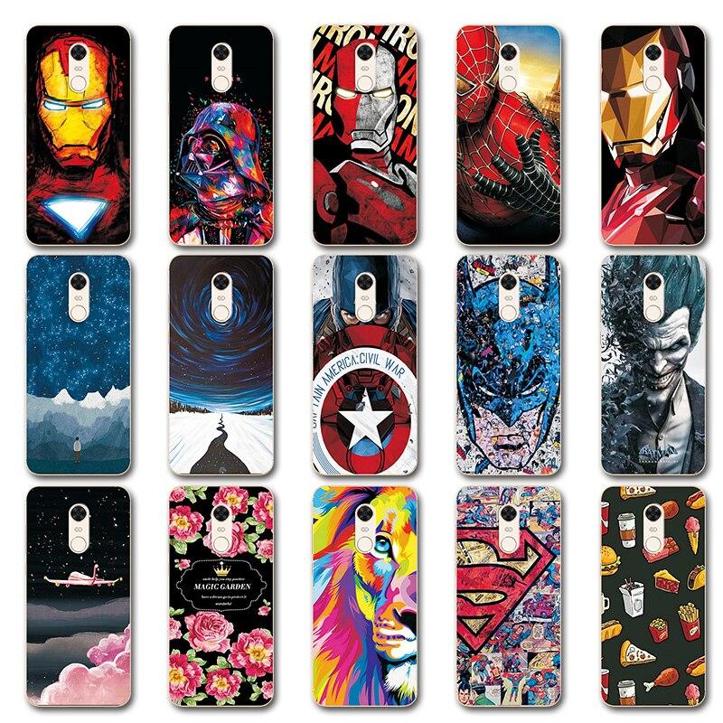 Phone-Case-Cover Avengers-Case Coque Redmi Novelty Silicone 5-Iron 5-Plus Xiaomi