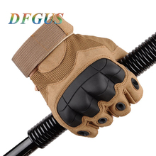 Military Tactical Gloves Army Special Forces Outdoor Half Guantes Gym Combat Slip-resistant Cut Leather Gloves 1 pair high quality pin nylon working gloves oil resistant nitrile safety gloves