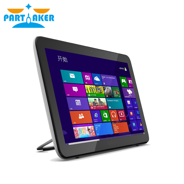 Partaker 19.5 inch Touch Screen All in One PC with J1900 Processor Support Intel NM70-HM77 Chipset