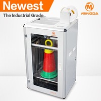 TPU 3d printer large size MINGDA single nozzle desktop 3d printer of 300 * 400 * 500 mm size made in China for hot sale