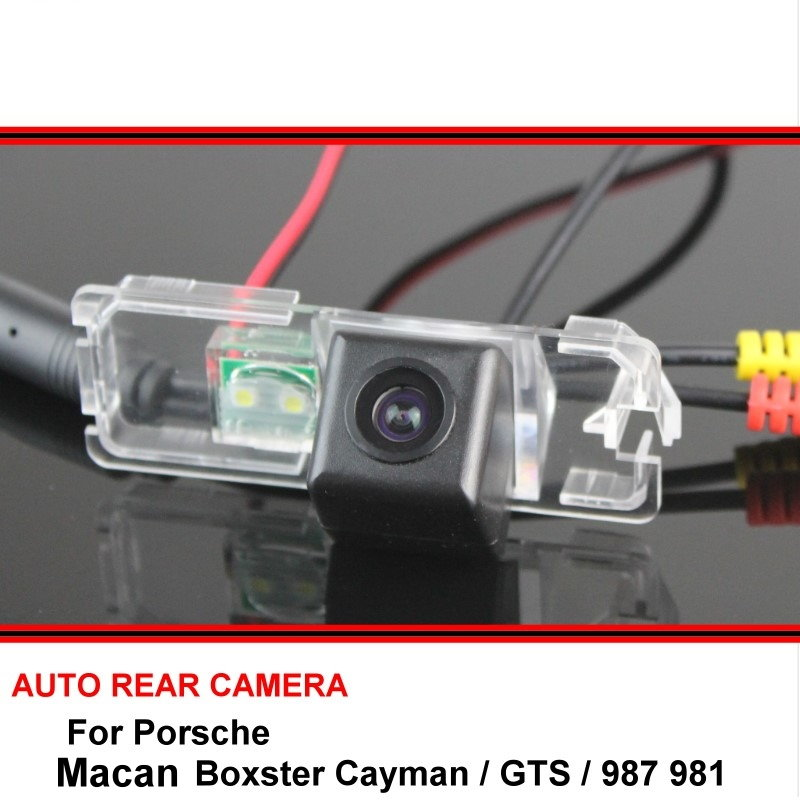 For Porsche Boxster Cayman GTS 987 981 Macan HD CCD Car Rearview Parking Waterproof Reverse Backup Rear View Camera Night Vision
