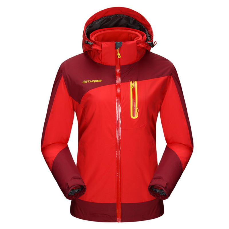 Women hiking jacket Waterproof and windproof Two-piece heated jacket winter womens sports clothing thirty two metcalf insulated jacket clay