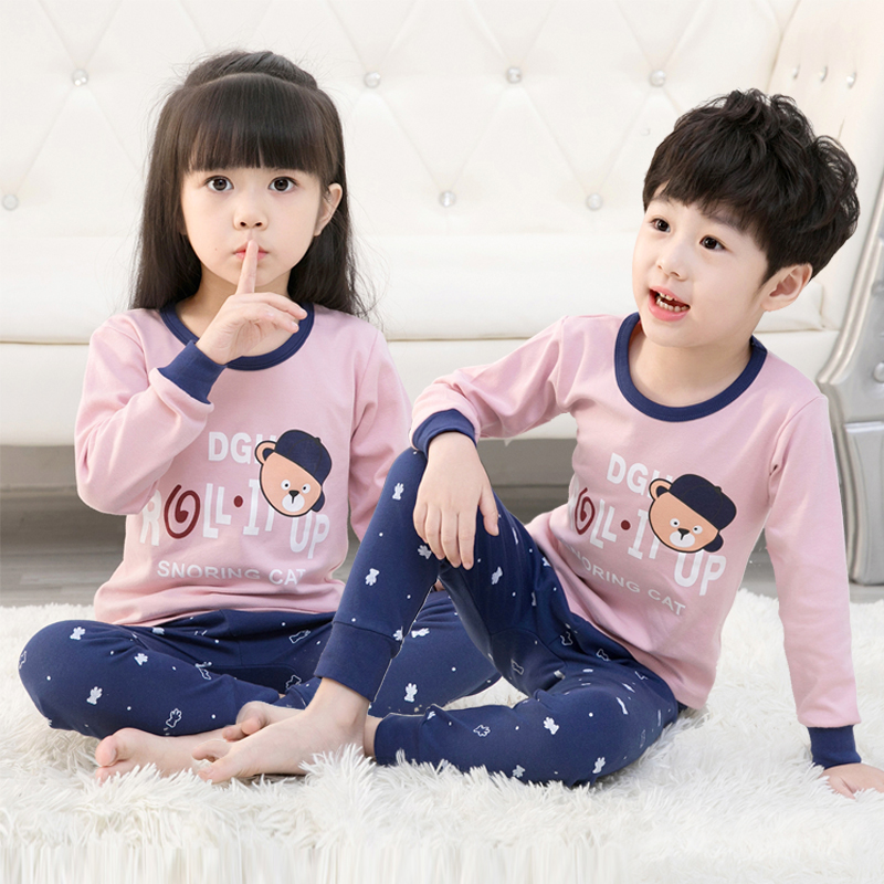 Children   pajamas   Pants   Set   Toddler Baby Boy Outfits For Babies Girl   Pajamas     Sets   Kids Suit Infant Boys Children Clothes Suits
