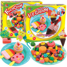 5 Colors Play Doh 3D Creative Fimo Polymer Clay With Mold Tool Kid Education Toys Play Dough S20(China (Mainland))