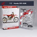 Honda CRF 450R Motorcycle Model Building Kits 1/12 Assembly Model Motorcycle Gift Toy motorcycle Kids Motorcycle Toys Kids Toys