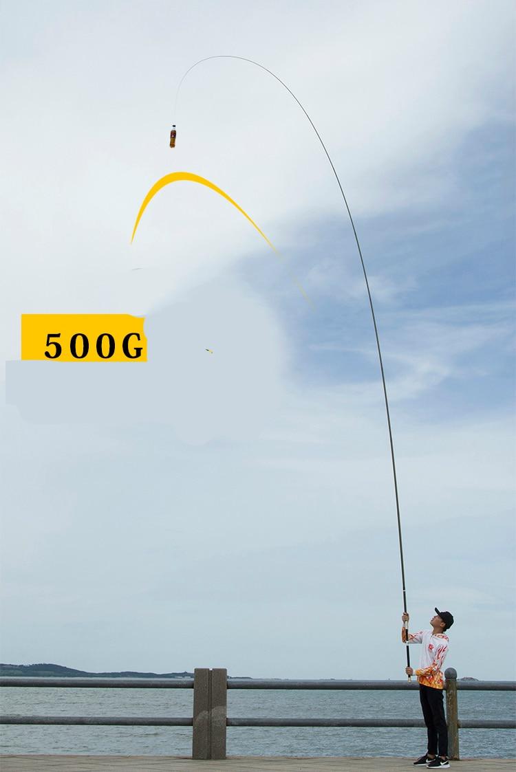 vara de pesca superhard ultraleve mão pólo