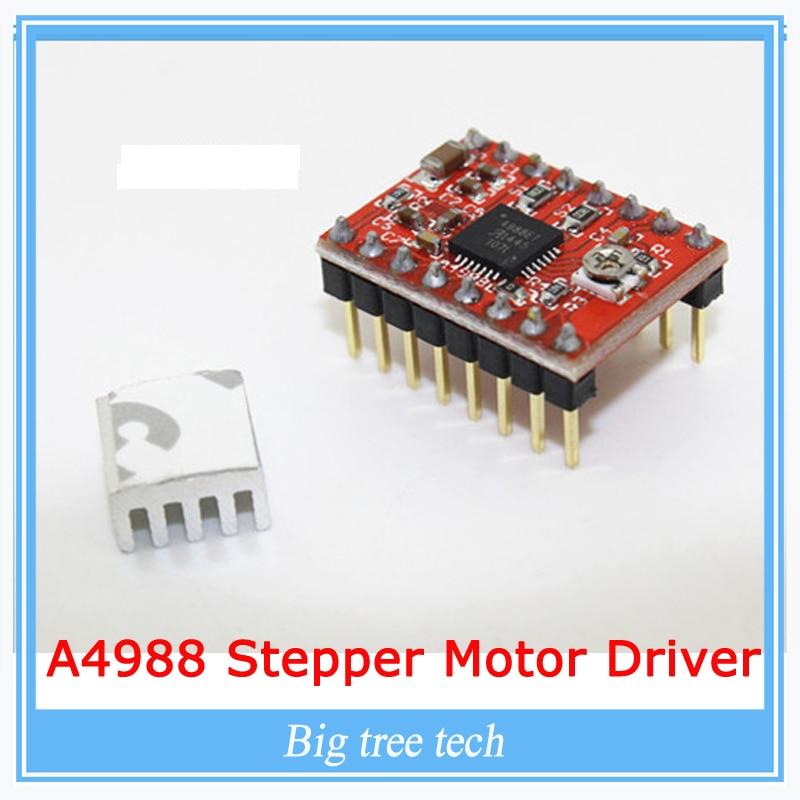 1pcs 3d printer kit a4988 stepper motor driver module with for A4988 stepper motor driver