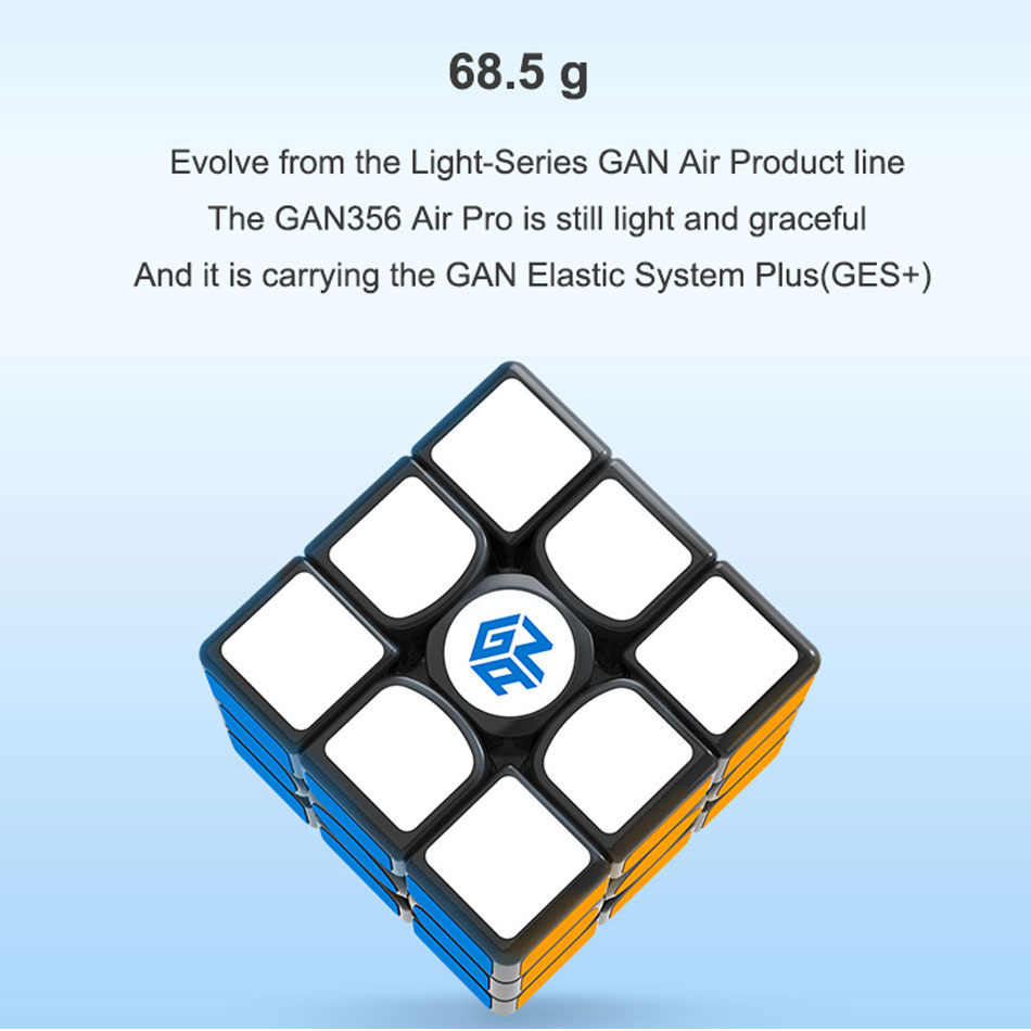 GAN 356 Air Pro 3x3x3 magic speed cube With Numerical IPG professional gan356 air pro puzzle cubes gans Pakistan