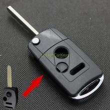 Cco науки & технологии для HONDA CIVIC ГОРОД FIT CRV Стайлинга Автомобилей Ключей в Случае 2 + 1 Кнопки Uncut Клинок Дистанционного Ключа Пустой Купер ABS Оболочки 1 ШТ.