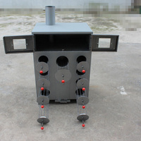 1pc 9 Hole thicken and double layers corn grilled machine charcoal or wood roasted sweet potatoes Oven machine