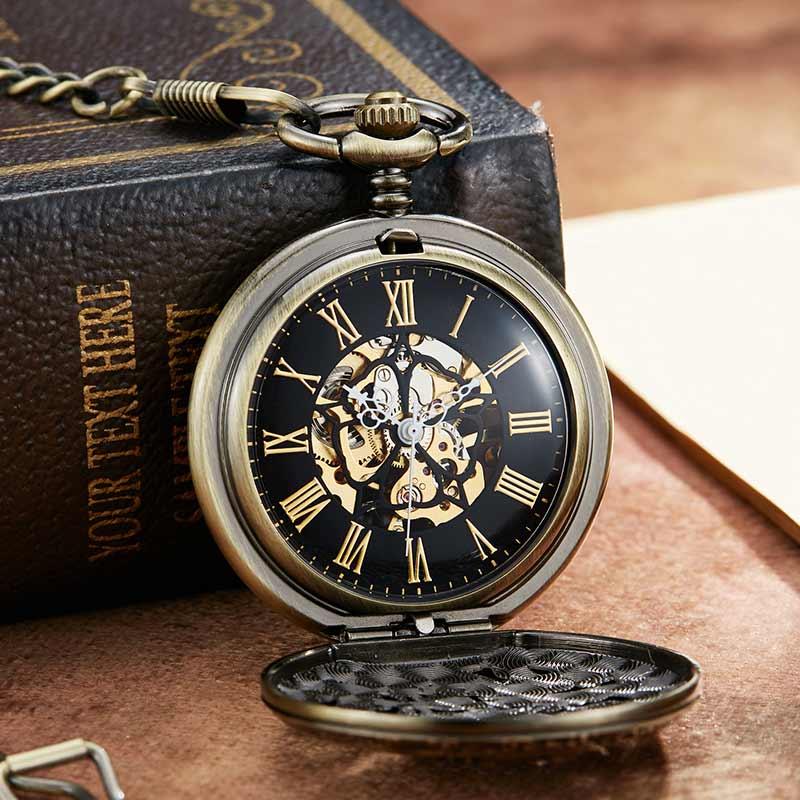 Mecânica Do Vento Relógio de Bolso