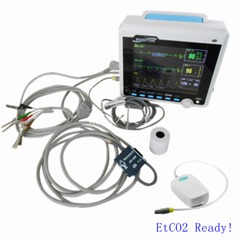 Contec CMS6000 Multi Parameter Patient Monitor, ETCO2, ECG