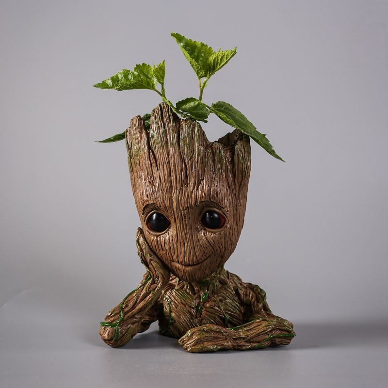 Creative Guardians Of The Galaxy Flower Pot Baby