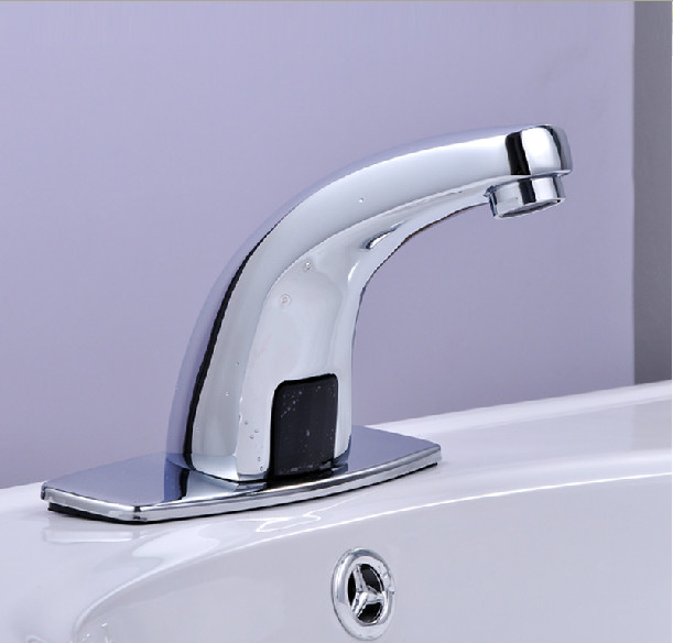 Free shipping bathroom basin auto taps electronic sensor