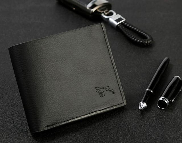 PU Leather Male Wallets Purse Gift High Quality 5