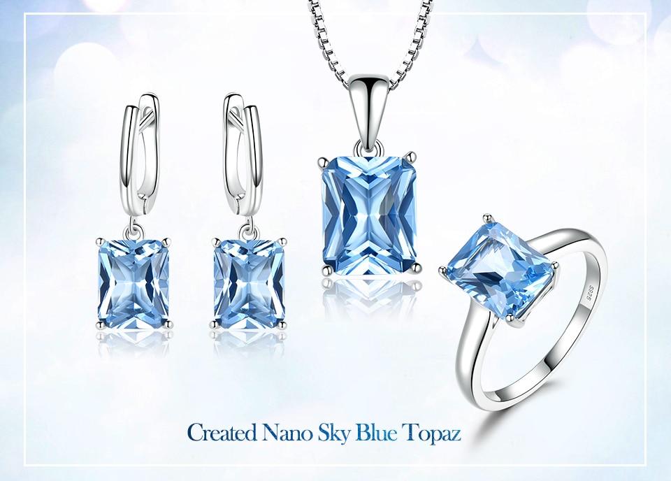 silver jewelry set for women  brand fine jewelry (1)