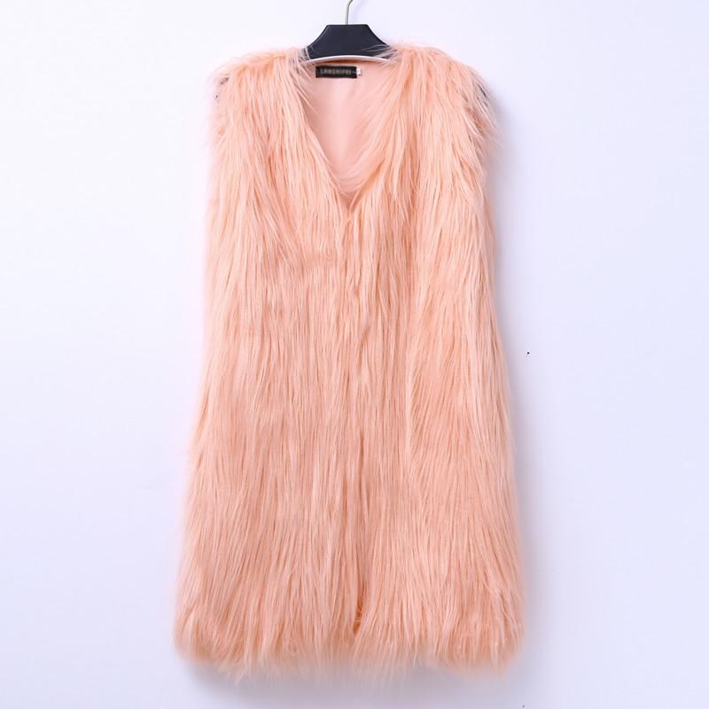 2016-Black-Faux-Fur-Long-Vest-Waistcoat-Autumn-Winter-Sleeveless-Outerwear-Women-Coats-Soft-Hairy-Overcoat (2)