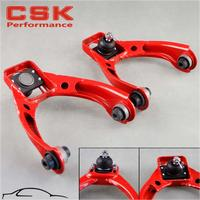 For 96 00 Honda Civic Adjustable Ball Front Upper Control Arm Camber Kit Red / BLUE