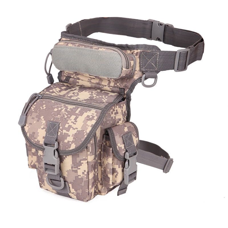 Camouflage Navy Tactical Drop Leg Bag Tool Fanny Thigh Pack Hunting Bag Waist Pack Motorcycle Riding First Aid Bag