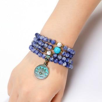 Bracelet Nature Argent Sodalite