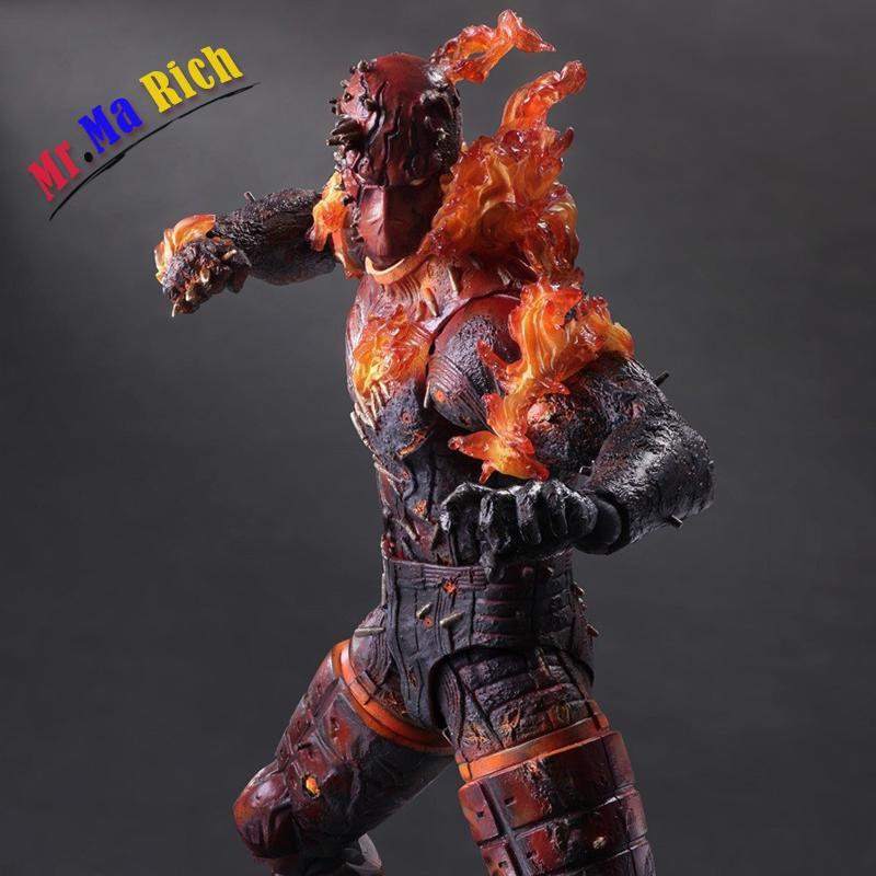 Metal Gear Solid V Il Fantasma Dolore Gioca Arts Kai Uomo On Fire Action Figure Da Collezione Modello Giocattoli il film di james cameron avatar 2 navi neytiri pazzo giocattoli action figure statua 13 anime figure da collezione modello