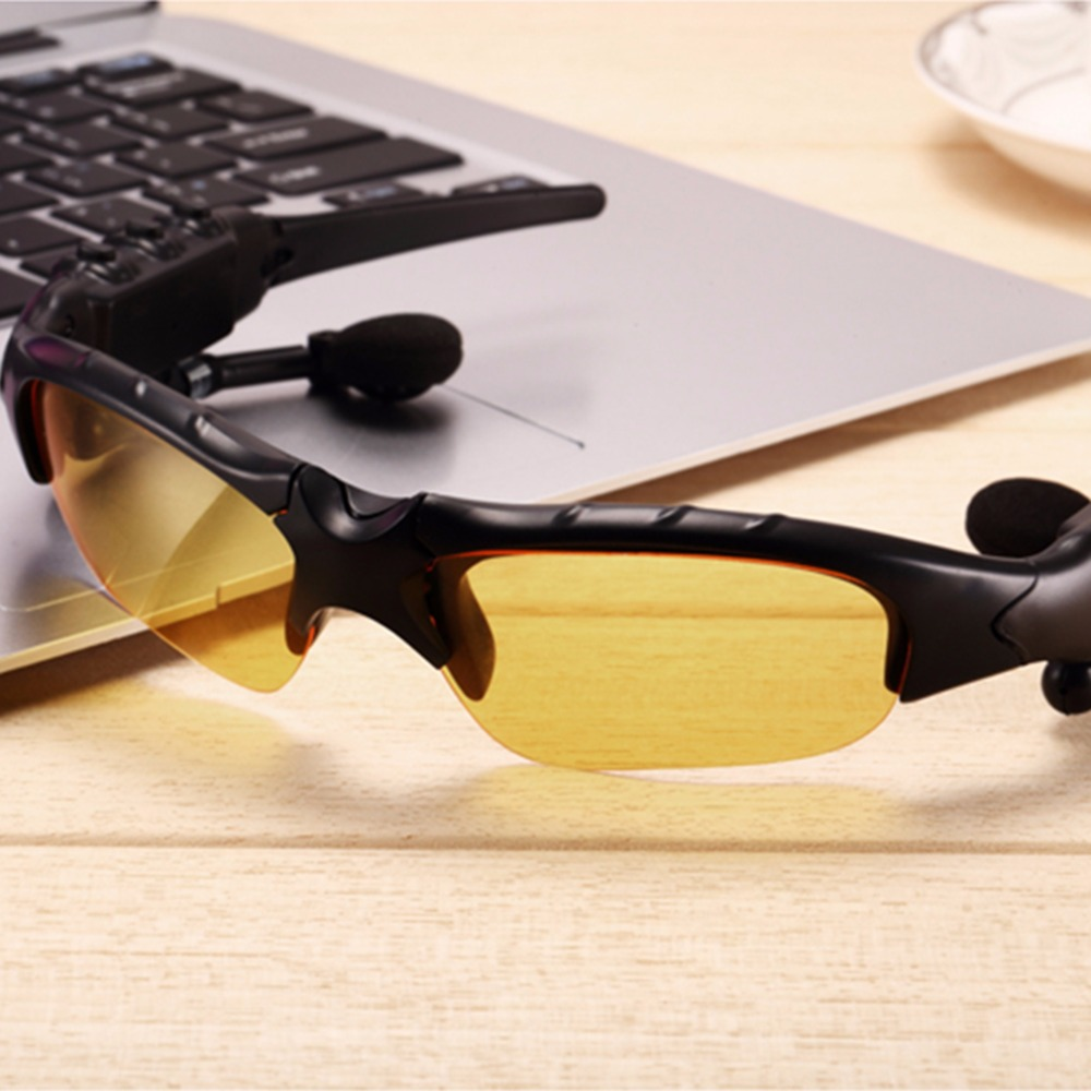 2017 New Arrival Bluetooth Headset Sunglasses Earphone Hands-free Phone Call for iPhone Xiaomi Stylish appearance hot sale 2016 new new sunglasses bluetooth headset earphone hands free phone call for iphone in stock