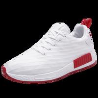 Mens Athletic Shoes Sport Sneakers Mens Gym Shoes Breathable Walking Jogging Shoes Men Black White Cheap
