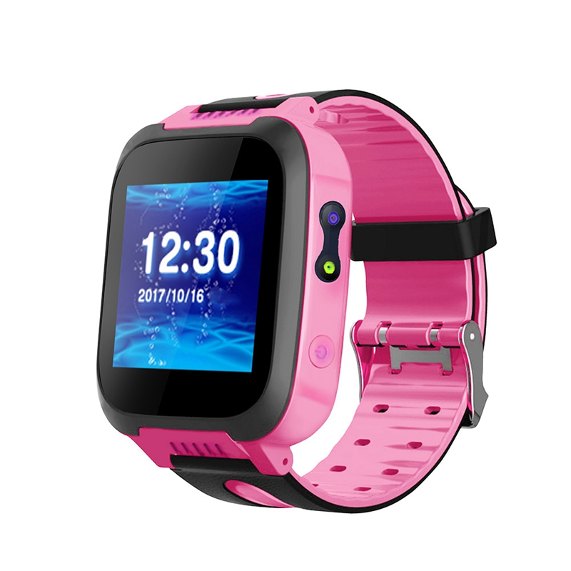 Fine Y30 Kids Baby Safe Smartwatch Lbs Location Sim Card Daily Waterproof Camera Watch Two Way Talk Cute Bracelet Wristband New Excellent Quality Children's Watches