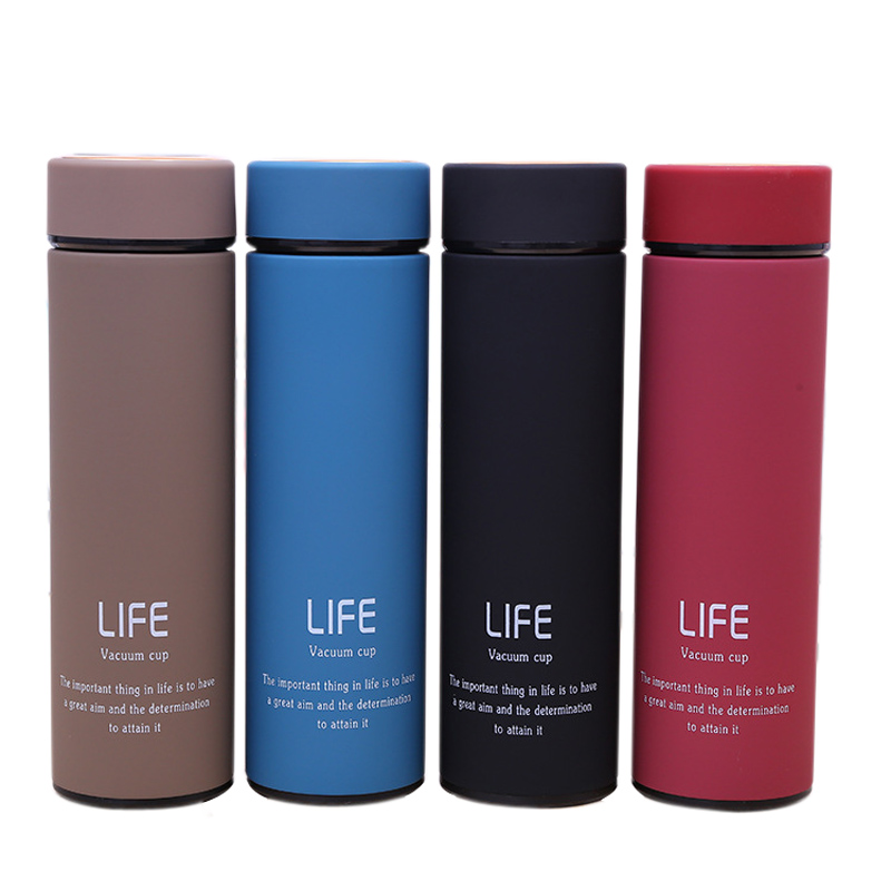 500ML Stainless Steel Household Thermos Tea Vacuum Bottle With Filter Business 304 Hot Water