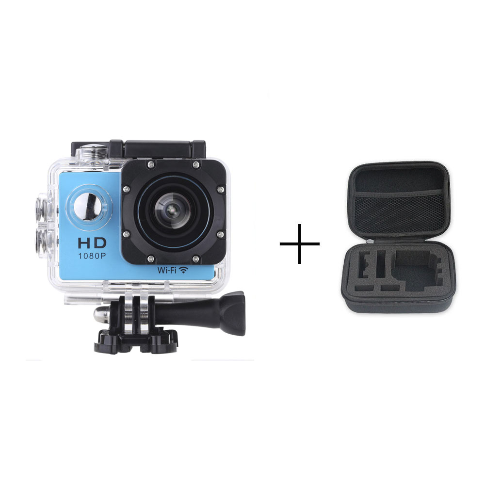 Go Pro Style Wifi Mini Cameras Action Cam 1080P HD Sports DV Action Video Mini Camcorders + 1pcs case bag no other accessories