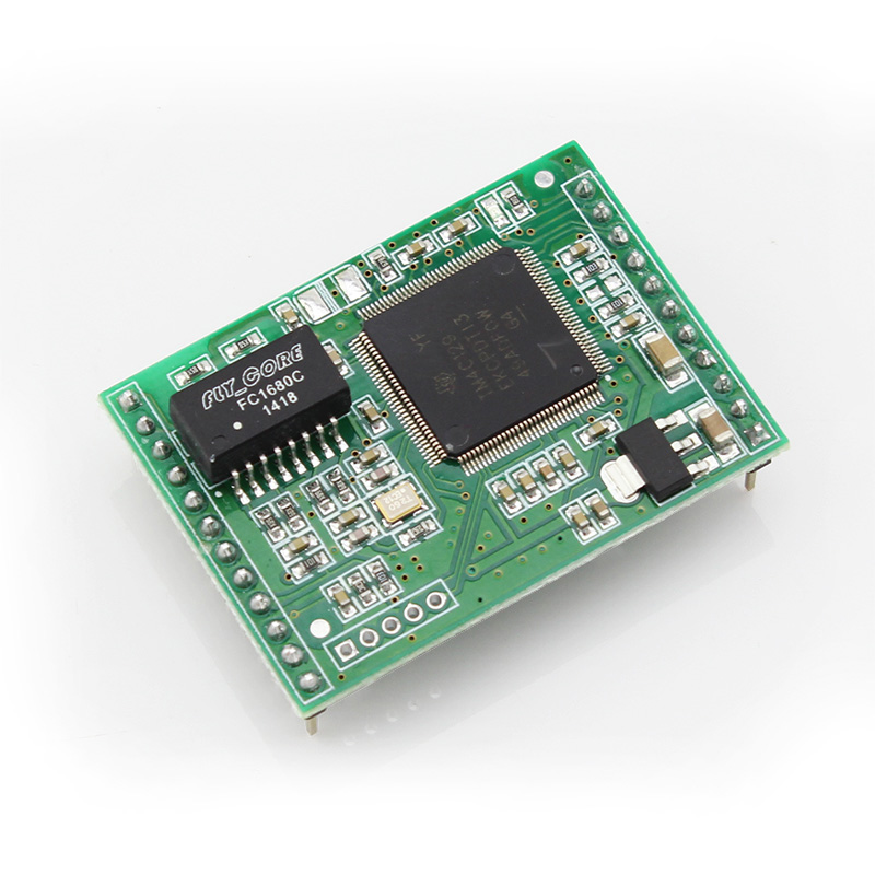 Q006 USR-TCP232-ED2 triple serial ethernet module TTL UART to Ethernet TCP/IP With New Cortex-M4 Kernel ttl turn rs485 module 485 to serial uart level mutual conversion hardware automatic flow control