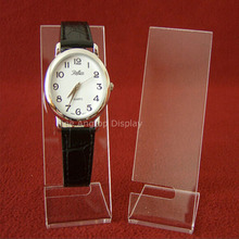 5pcs/lot Clear Acrylic Watch Display Stand
