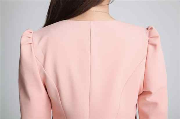 Nowy 2019 feminino wiosna OL lato styl szczupła kobiet płaszcz krótki kobieta ubrania kurtki garnitury znosić płaszcz kobiety plus rozmiar 5XL