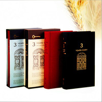 Europe Vintage Retro Creative Diaries Hardcover Book Magazine Business Notebook Paper Gift Box Office Stationery