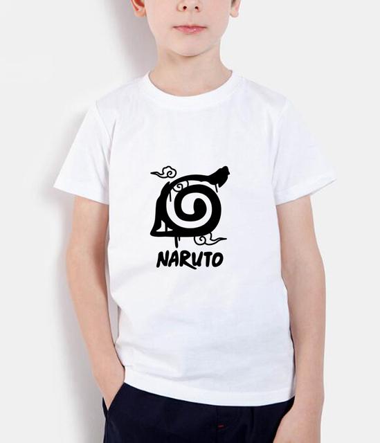 Konoha Leaf Village Logo Short Sleeve Children T Shirts