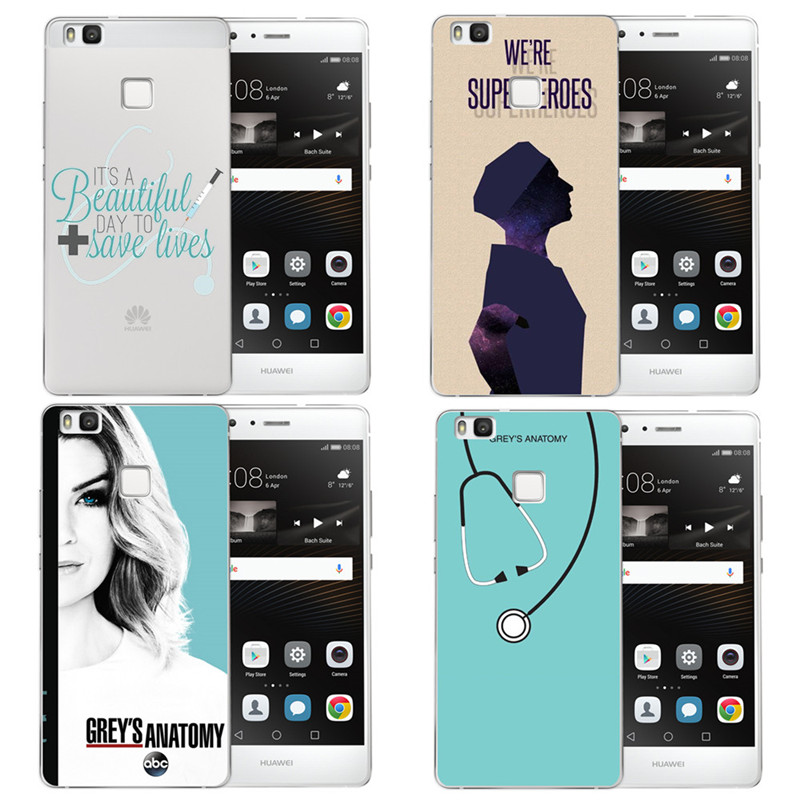American TV Greys Anatomy Phone Case For Huawei Ascend P8 Lite 2017 ...