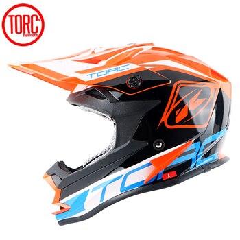 TORC Motocross off-road helmet downhill moto helmets Street Riding casque moto MTB ATV Racing moto helmets