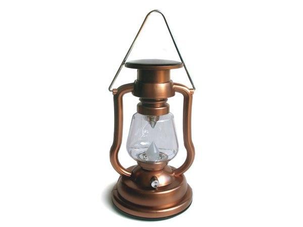 Solar powered camping lantern lamp 7LED super bright adjustable ...
