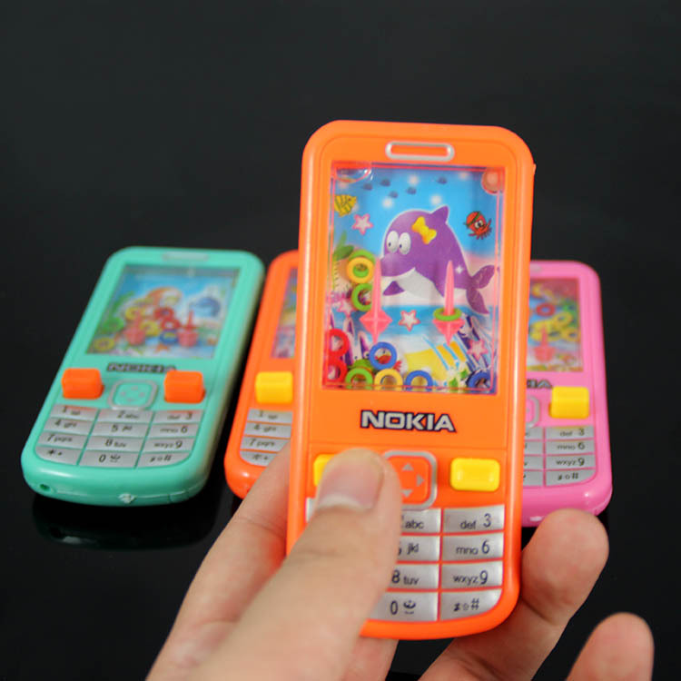 Vintage Water Game Children Phone Machine Share Games Mobile Phone Childhood Memory Funny Ability Challenge Toys For Children