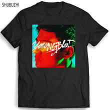 f8486f007d0 summer top tees men brand teeshirt male tshirt 5SOS Youngblood Calum Mans  T-Shirt shubuzhi