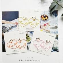 Korean Japan Anti-allergy Cute Hollow Heart Girls Fresh Woman Dangle Drop Earrings Handmade Fashion Jewelry-JQD5 korean handmade pink irregular geometric anti allergy 2019 woman dangle drop earrings fashion jewelry holiday jqd5