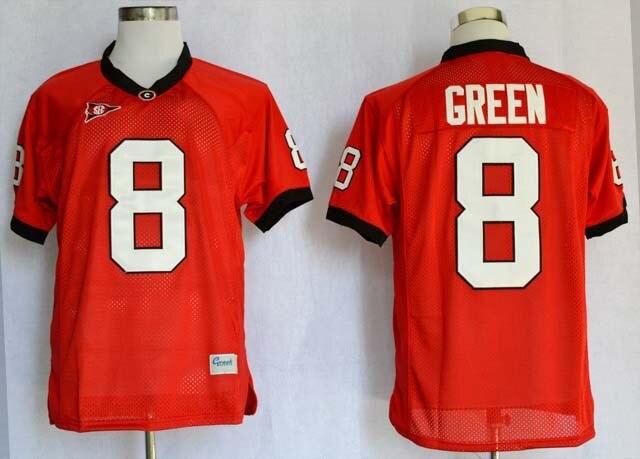 Mens Stitched Georgia Bulldogs Jersey,Matthew Stafford Jersey Aaron Murray Georgia Bulldogs Football Jersey 11 Red XS to 5XL