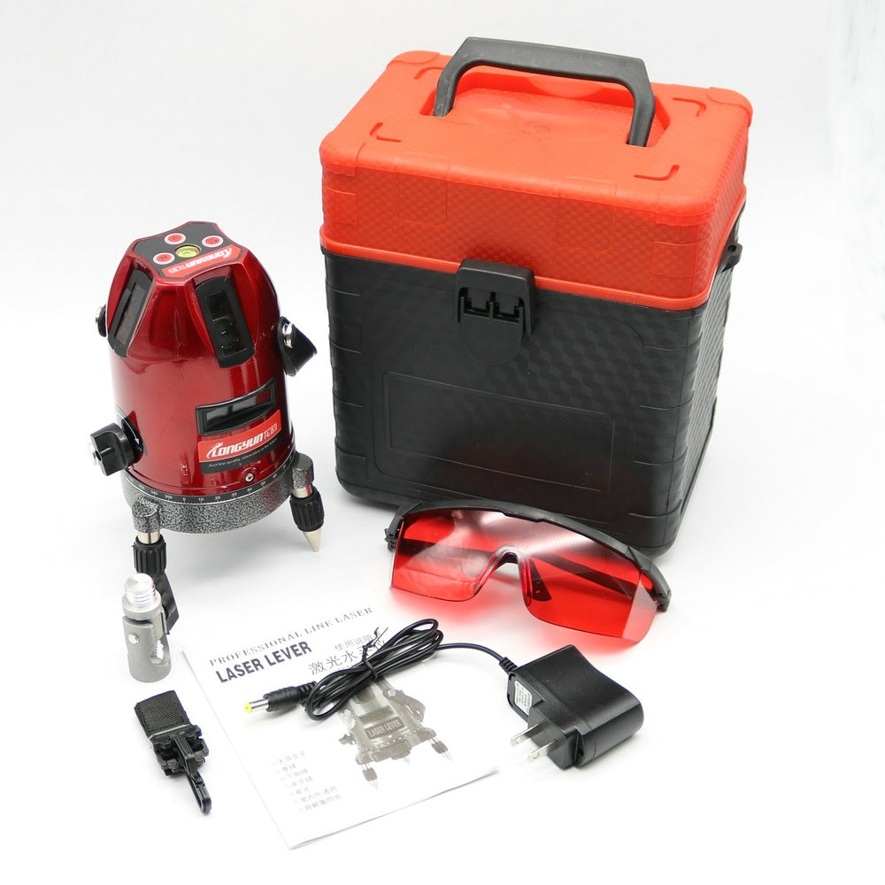 Professional Automatic Self Leveling 5 Line 6 Point 4V1H Laser Level Measure XG Laser Level Measure Rotary Tool 1pc laser cast line machine multifunction laser line cross line laser rotary laser level 360 selfing leveling 5 line 4v1h3 point