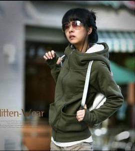 2013 new arrival spring hot sale 8015 plus velvet thickening turtleneck set women sweatshirt outerwear hoodies