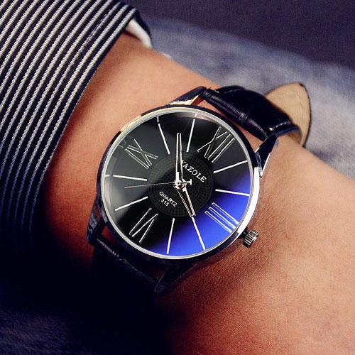 Prix pour Designer Nouvelle Montre-Bracelet De Mode Montre-Bracelet Hommes Top Marque De Luxe Célèbre Mâle Horloge À Quartz Montre pour Homme Hodinky Relogio Masculin